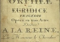 Storia dell'Opera: C.W. Gluck e la riforma del melodramma