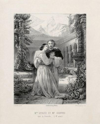 Gilbert Duprez & Rosine Stoltz ne La Favorita di Donizetti