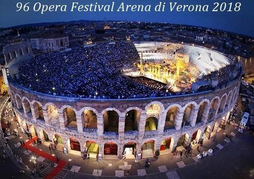 96 opera festival Arena di Verona 2018