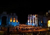 L'Orchestra della Calabria si dilegua al Premio Di Stefano di Taormina.