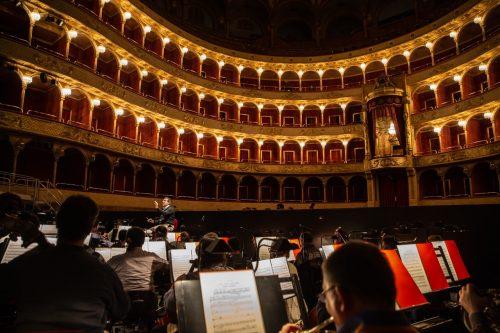 Teatro dell'Opera di Roma -Il Maestro Daniele Gatti durante le prove del Rigoletto-ph Yasuko Kageyama-Opera di Roma 2018-19