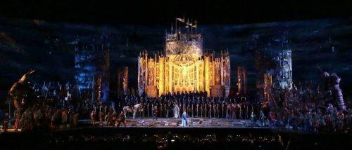 Arena di Verona, Il Trovatore, atto II ©Foto Ennevi/Fondazione Arena di Verona