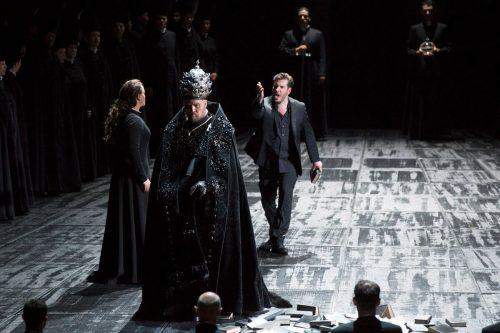Don Carlo 2 allestimento Opéra National du Rhin di Strasburgo e Aalto-Theater di Essen