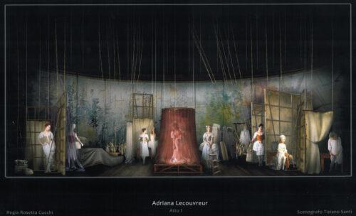 Bozzetto_ADRIANA atto I scena 1_@Tiziano Santi