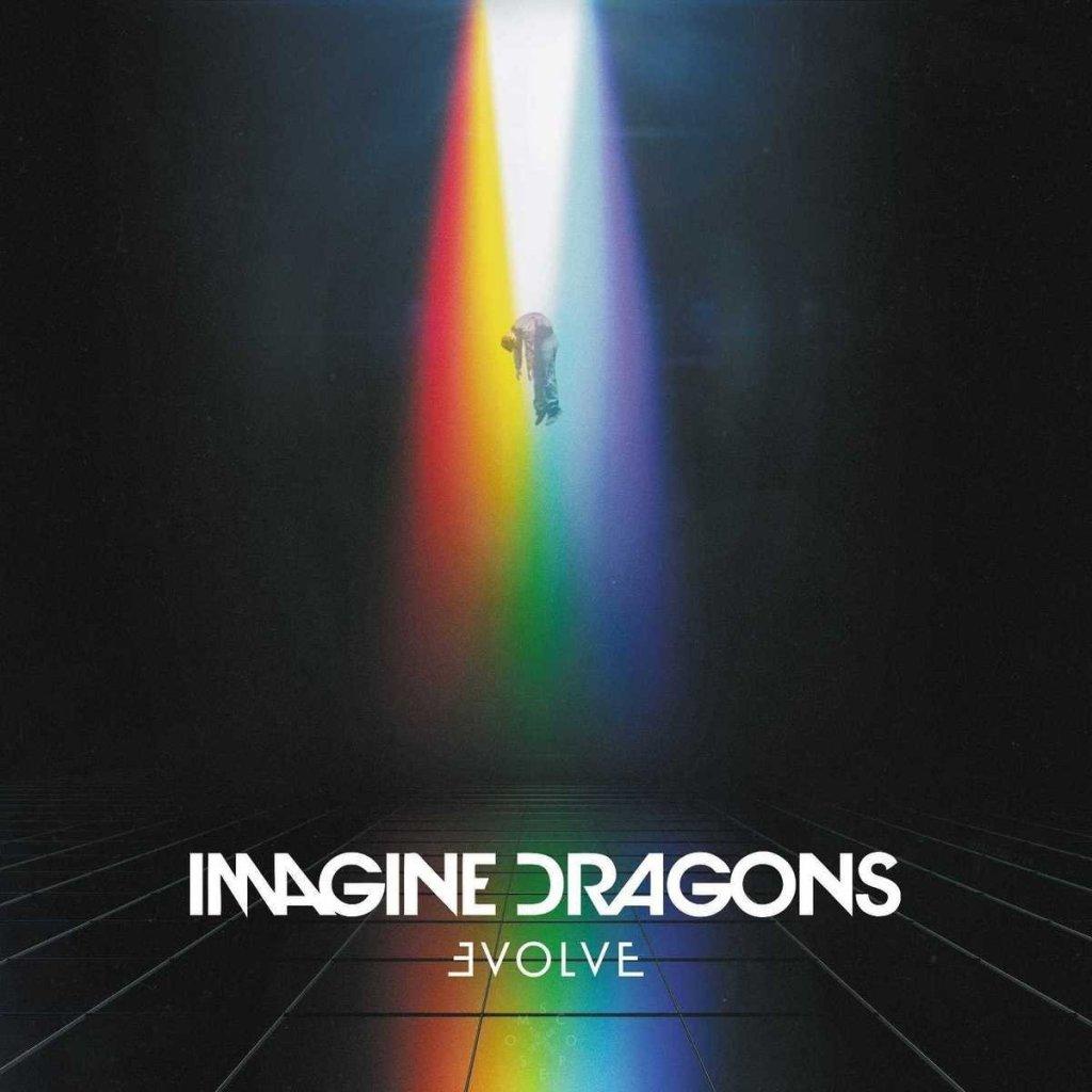 Carátula del disco Evolve, publicado en 2017 por Imagine Dragons