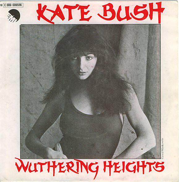 Portada del single Wuthering Heights en España