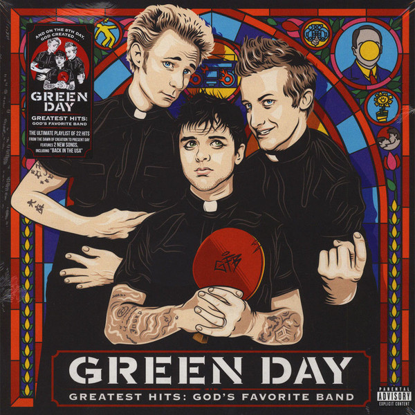 Portada del recopilatorio de Green Day