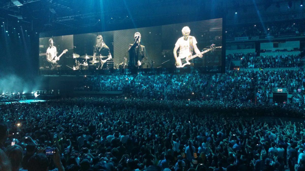 Concierto de U2 en Barcelona, Palau Sant Jordi. 10 de octubre de 2015