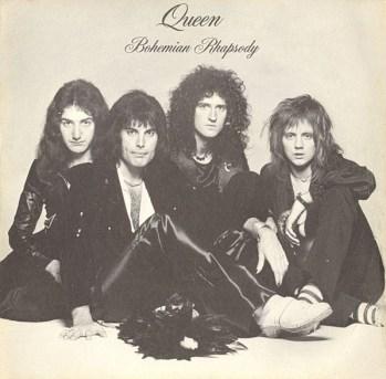 Formato de single de Bohemian Rhapsody, al modo A night at the opera