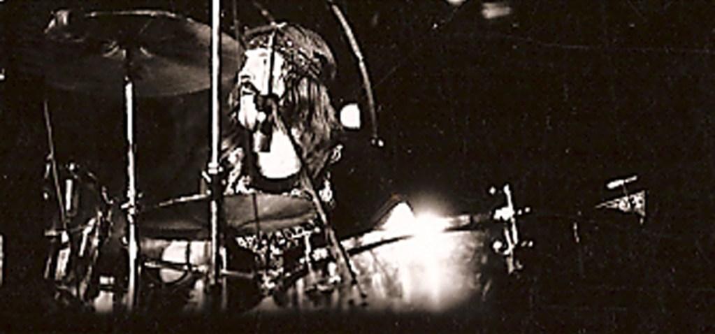 El batería de Led Zeppelin, John Bonham