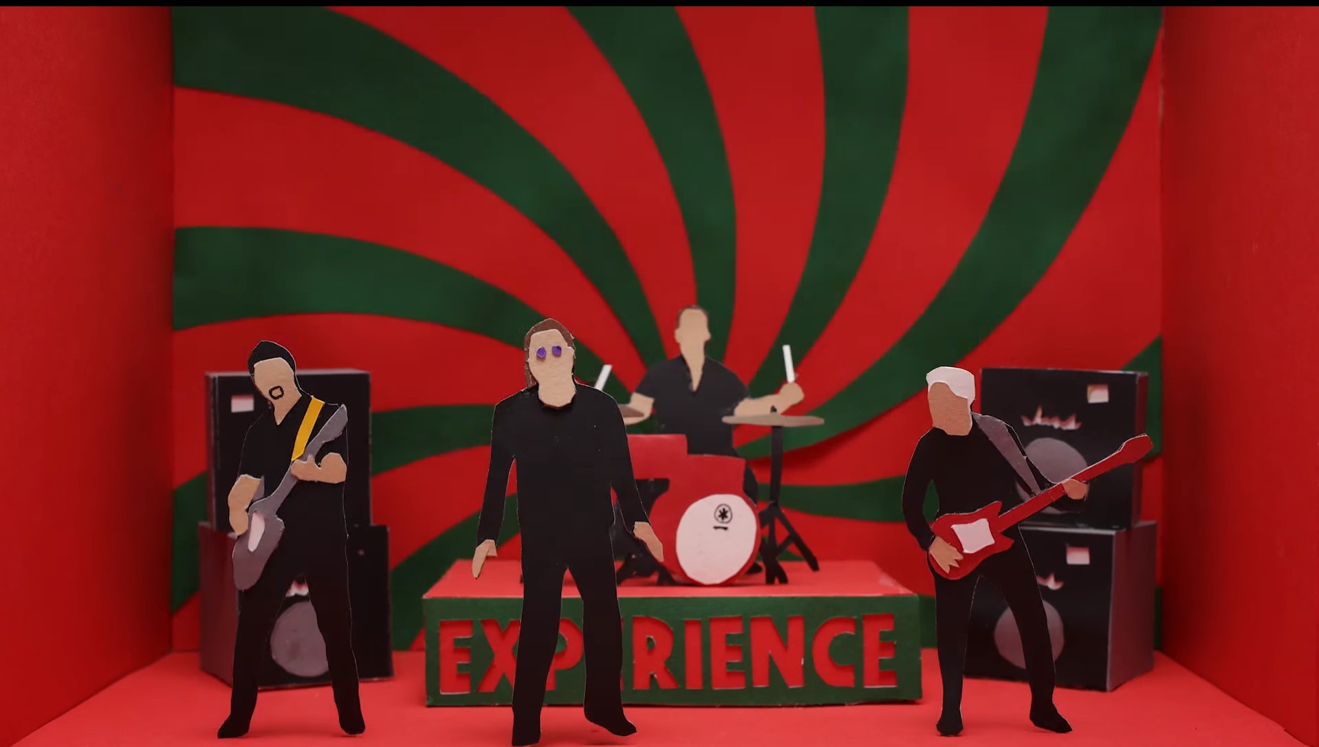 La innovación visual en Get out of your own way de U2… y muchos otros más