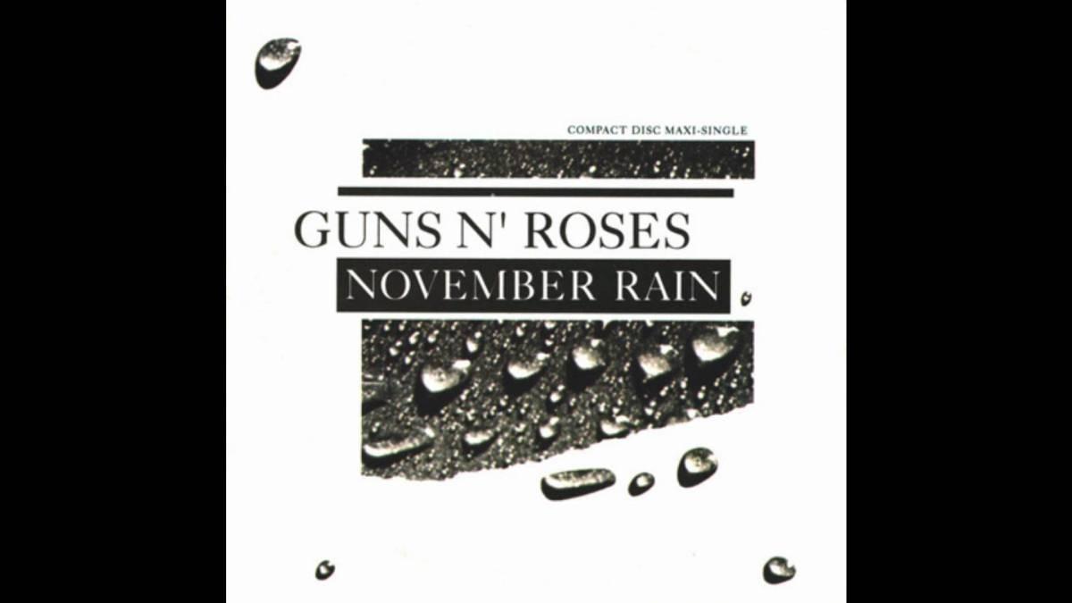El sencillo de November Rain, en CD