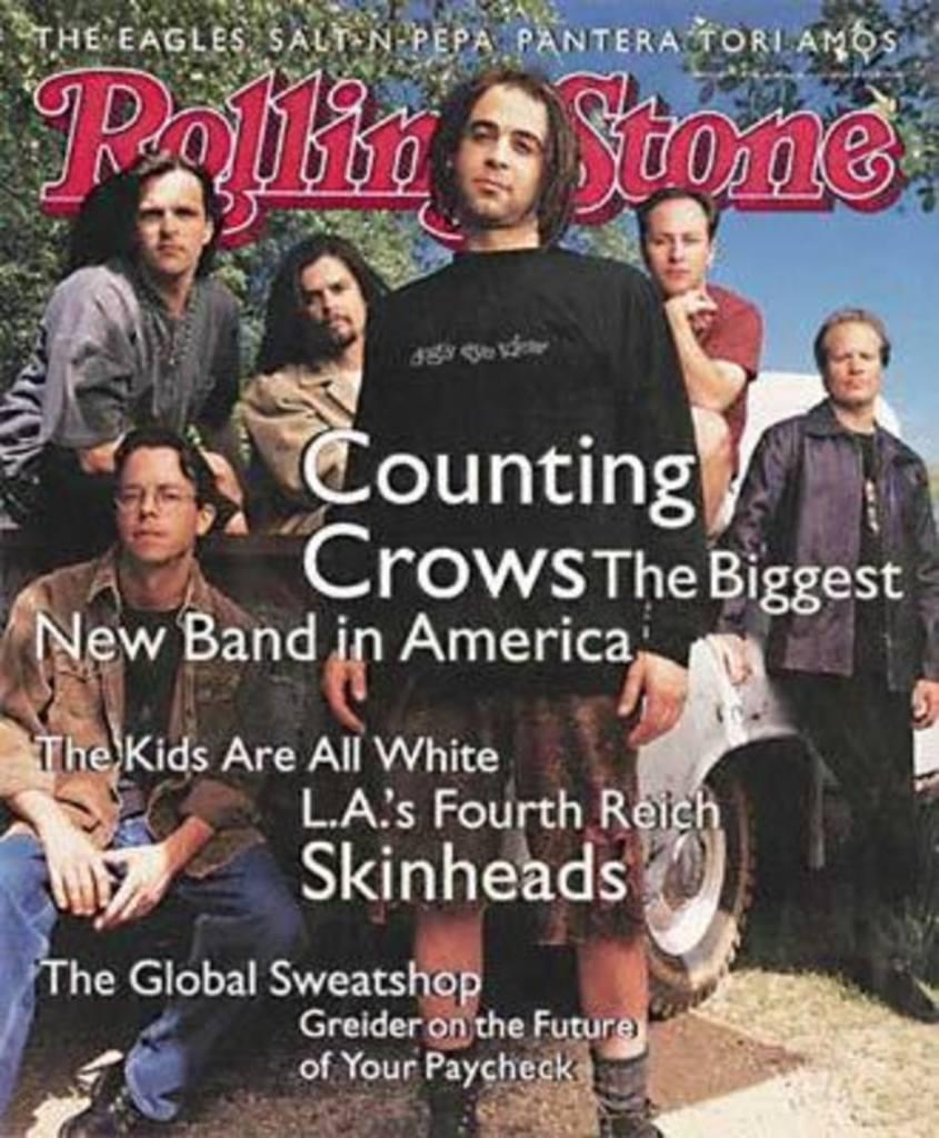 Portada de Rolling Stone con el grupo