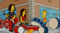 Bart y los White Stripes