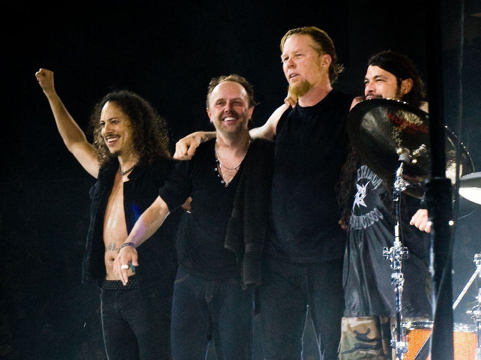 Formación actual Metallica