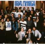 Los artistas que formaron USA for Africa