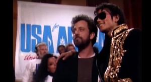 Michael Jackson y Billy Joel