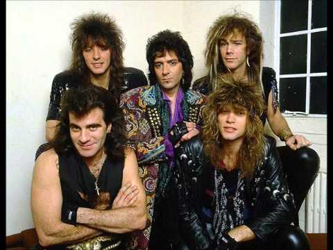 El grupo, tras un concierto