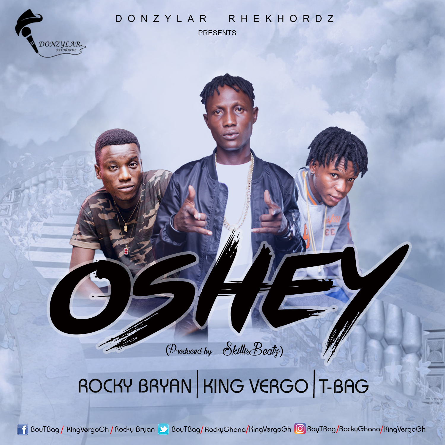 Rocky Bryan – Oshey ft king Vergo and T-bag (prod by skillisBeats)