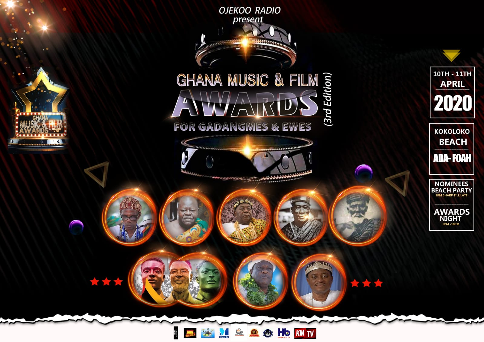 Ghana Music And Film Awards For Gadangmes And Ewes Calls For Nomination
