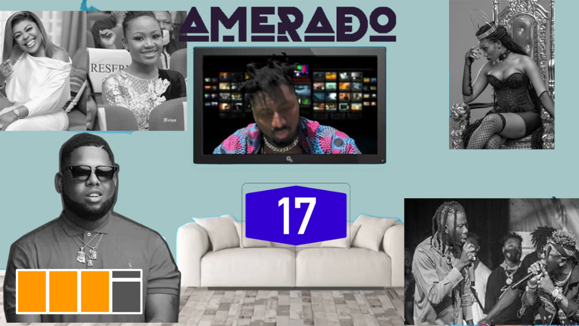 Amerado – Yeete Nsem (Episode 17) featuring Clemento Suarez and Teacher Kwadwo