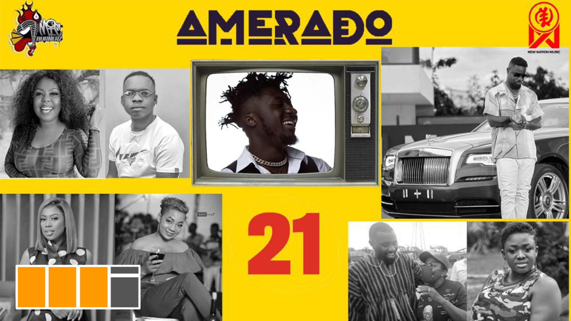 Amerado Recruits AMG's Evergreen On Yeete Nsem Episode 21