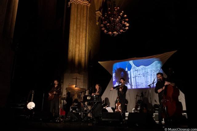 Seth Lakeman and band