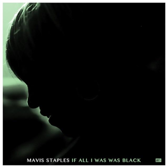 Silhouette of Mavis Staples