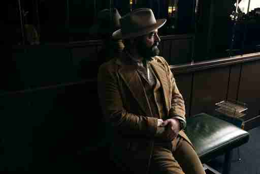 Drew Holcomb in shadow