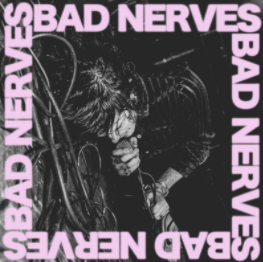 Bad Nerve record sleeve in the style of The Clash
