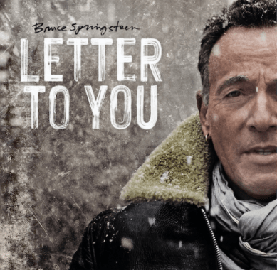 Brice Springsteen on Letter To You album cover
