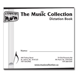 Music Collection Dictation Book