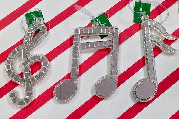 Music Christmas Tree Ornaments