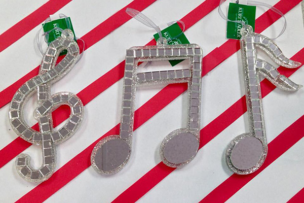 Music Christmas Tree Ornaments