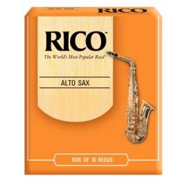Rico Alto Saxophone Reeds Box of 10