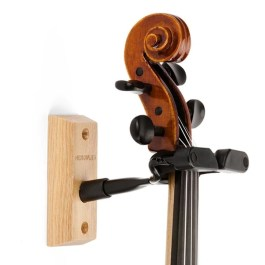 Hercules DSP57WB Auto Grip Violin Hanger Wall Mounted