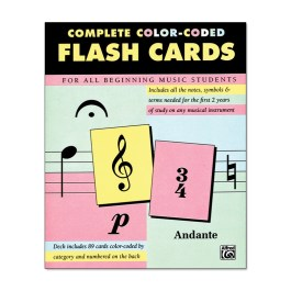 alfred-Complete-Color-Coded-Flash-Cards