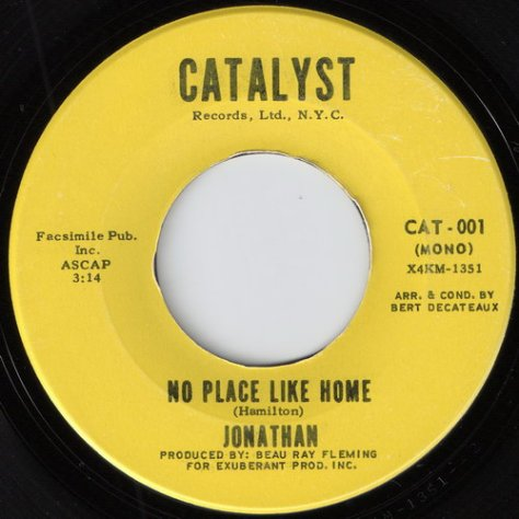 Jonathan - No Place Like Home (Catalyst)