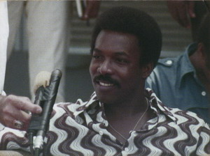 Wilson Pickett at Press Conference 1971