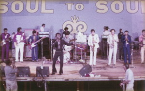 Wilson Pickett Onstage With Film Crew 1971