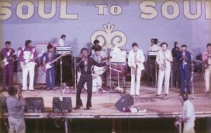 Wilson Pickett Onstage With Film Crew 1971