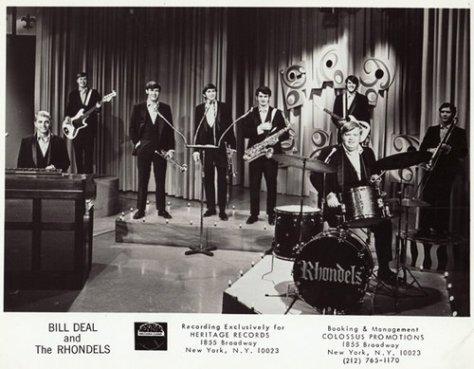 Bill Deal & The Rhondels (1960s Press Photo)