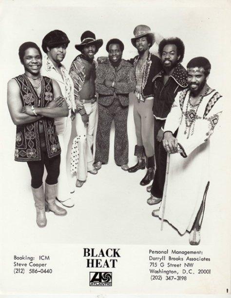 Black Heat (1975 Atlantic Press Photo) Washington, D.C. Funk Group