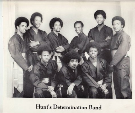 The Hunt's Determination Band (1970s Photo)