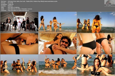 2B Project feat. Aisha & Don Cash - Mojito (2012, Modern Pop, HD 720p)