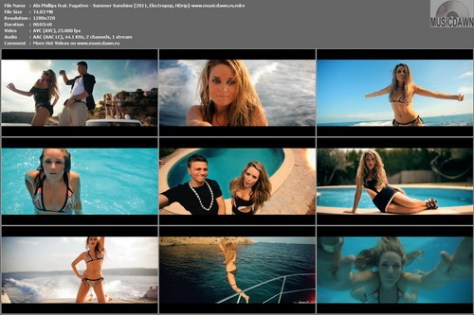 Abi Phillips feat. Fugative – Summer Sunshine [2011, HD 720p] Music Video (Re:Up)