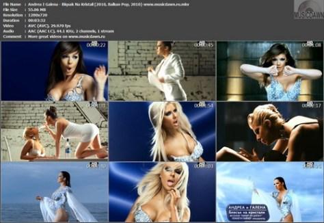 Andrea I Galena - Blqsak Na Kristali / Андреа и Галена - Блясък На Кристали (2010, Balkan Pop, HDrip)