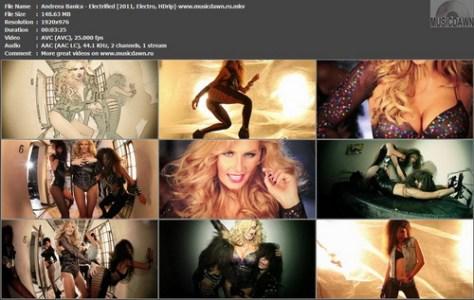 Andreea Banica – Electrified [2011, HD 1080p] Music Video