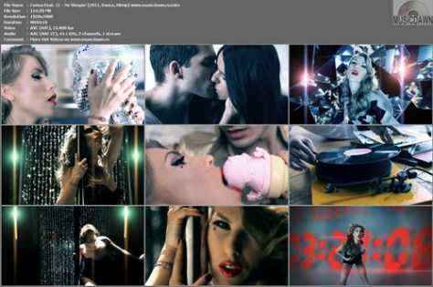 Corina Feat. JJ  – No Sleepin' [2011, HDrip 1080p] Music Video