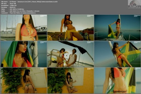 DJ Flower – Jamaican Love [2011, HDrip 720p] Music Video